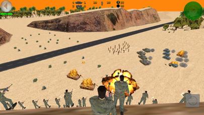 Desert War 3D - Tactical game screenshot one