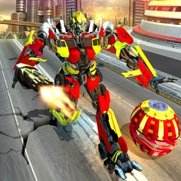 Transforming Robot Ball War