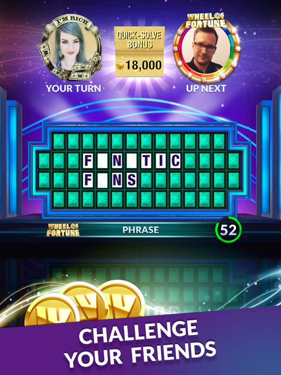 Wheel of Fortune: Show Puzzles для iPad