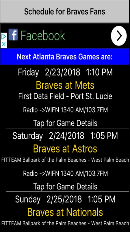 Schedule for Braves fans - Online Game Hack and Cheat