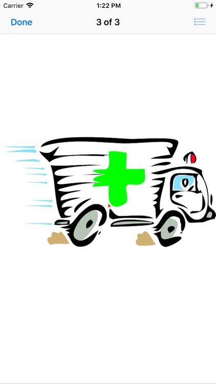 Ambulance Stickers screenshot-3