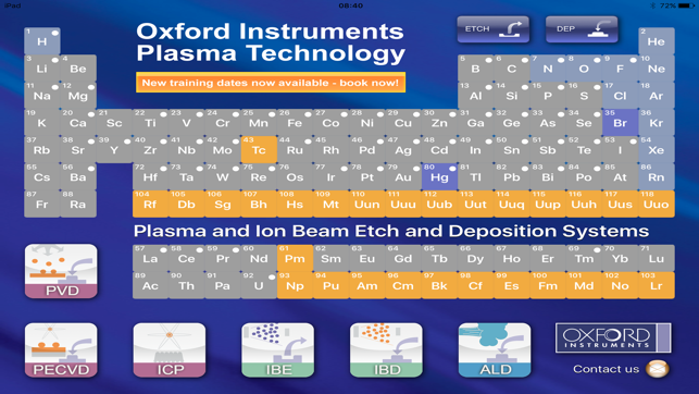 Plasma tech periodic table on the app store screenshots urtaz Images