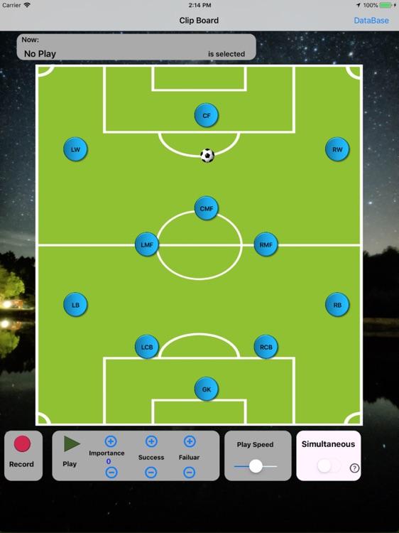 Clip Board Soccer Pro