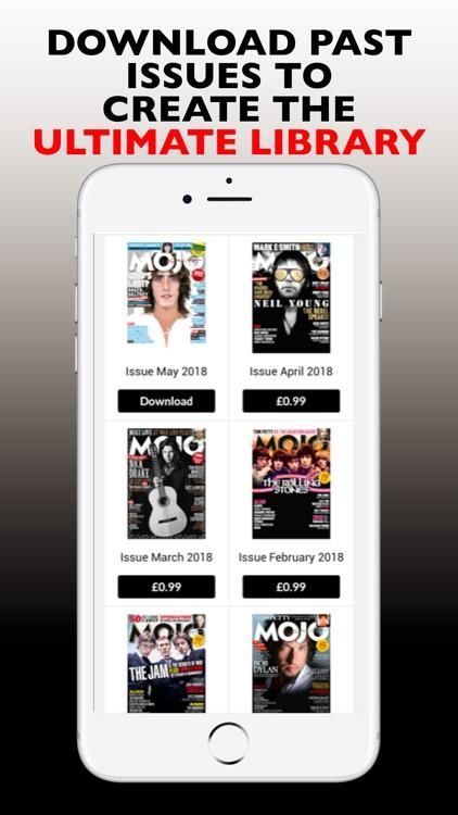 Mojo: The Music Magazine screenshot-3
