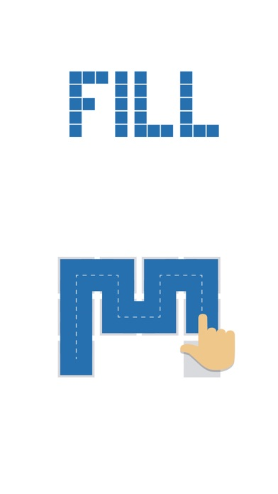 Screenshot for Fill one-line puzzle game in Denmark App Store