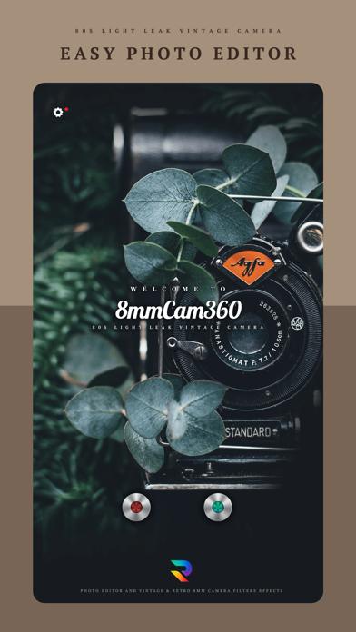 8mm Cam 360 - Photo Editorのおすすめ画像1