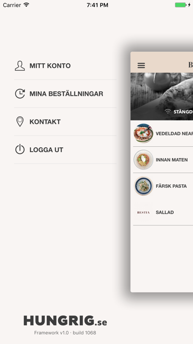Bestia Restaurang Screenshot