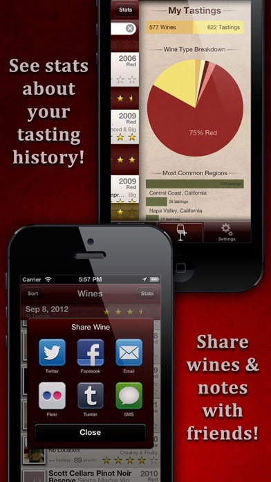 WineAlbum - Wine Tasting NotesScreenshot of 4