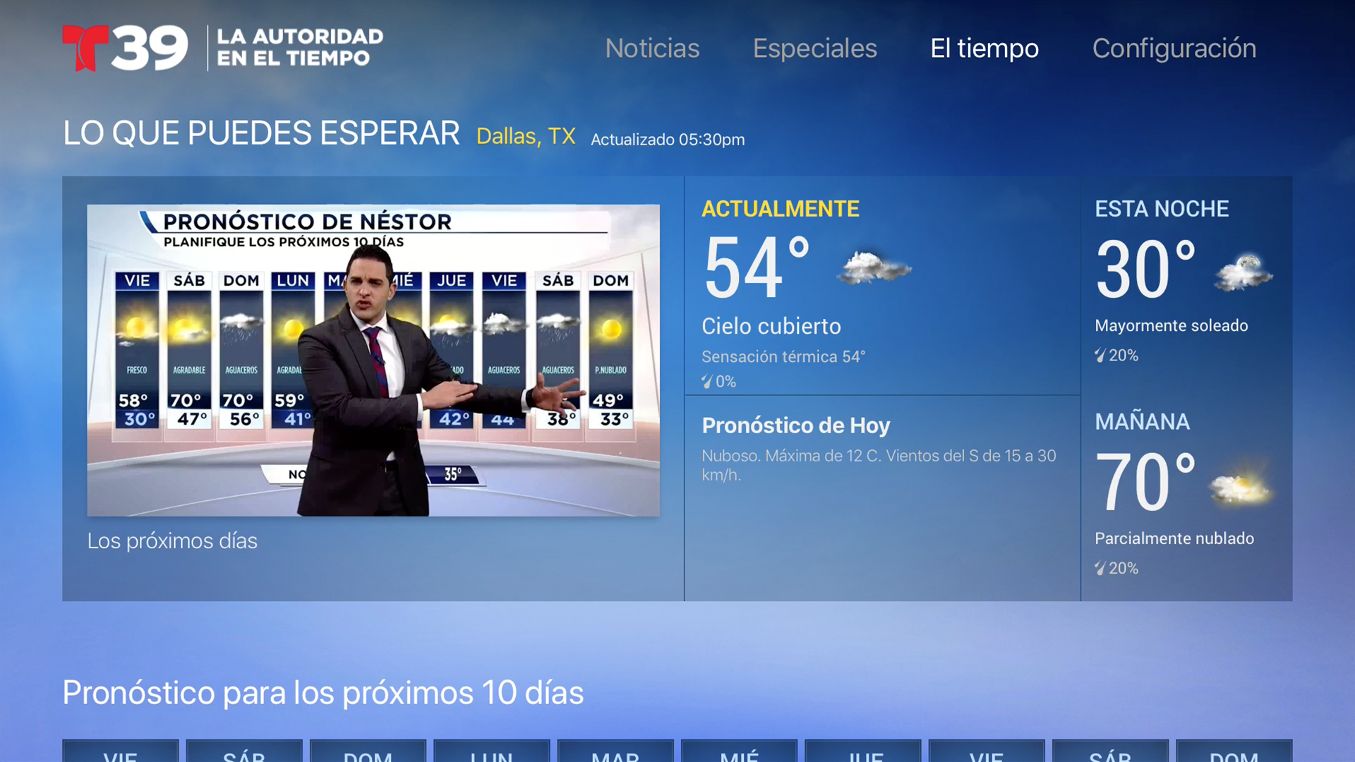 Telemundo 39 screenshot 17