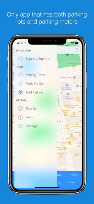 Parkme Parking On The App Store