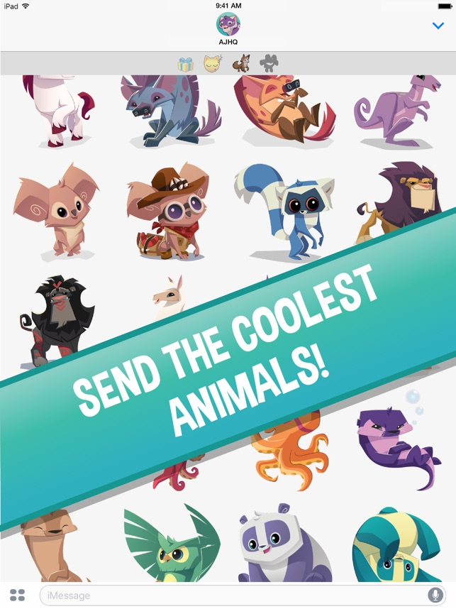 Animal Jam Stickers on the App Store