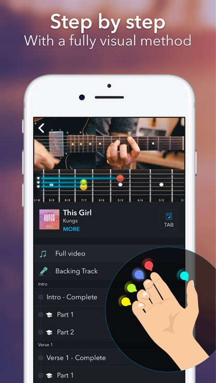 Coach Guitar chords tuner tabs by Manomaya SA