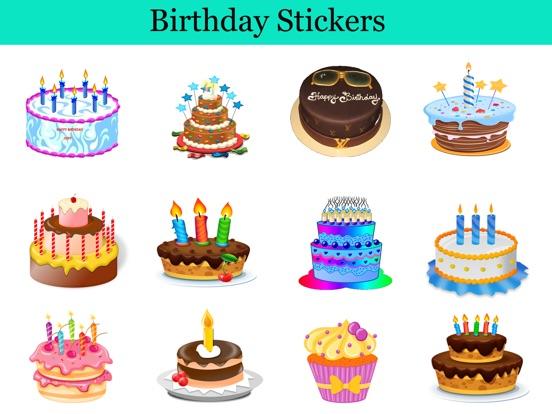 Birthday Cake Stickers Pack App Price Drops