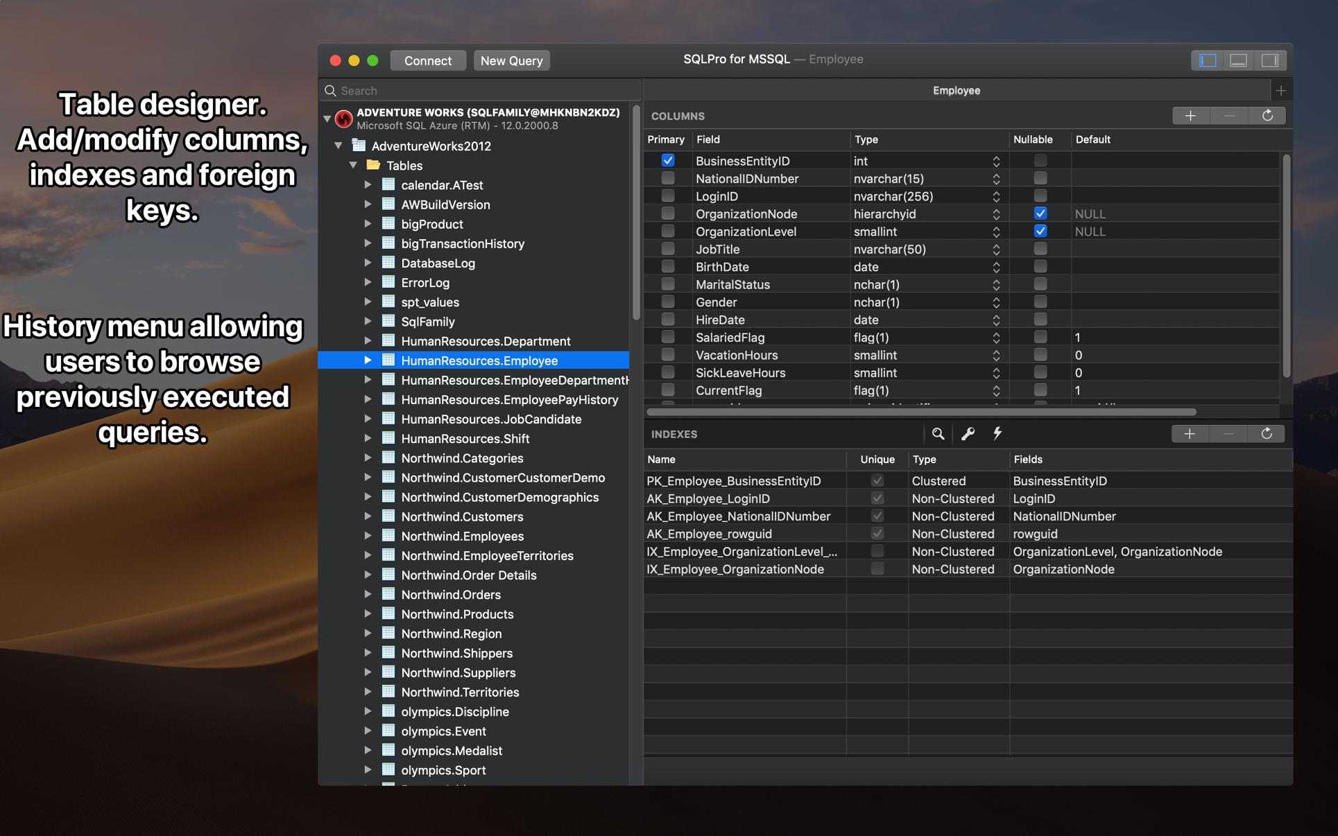 SQLPro Studio 2021.68 Mac 破解版 优秀的数据库客户端