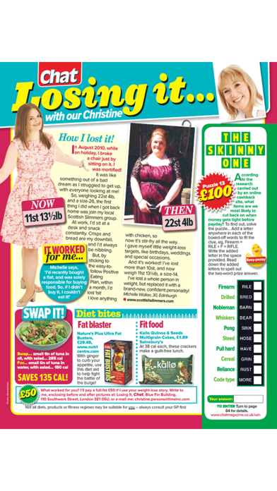 Chat Magazine screenshot four