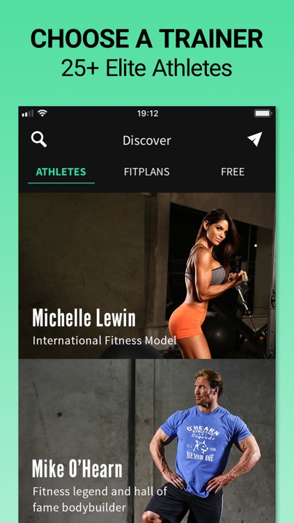 Fitplan: Gym & Home Workouts screenshot-0