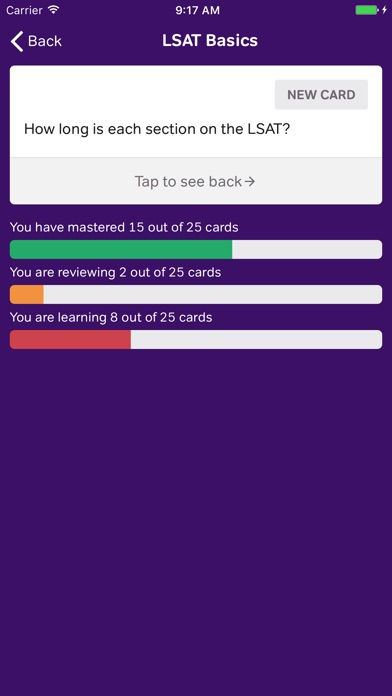 Lsat trainer nerdcoach by nerdcoach llc education category lsat logic flashcards malvernweather Images