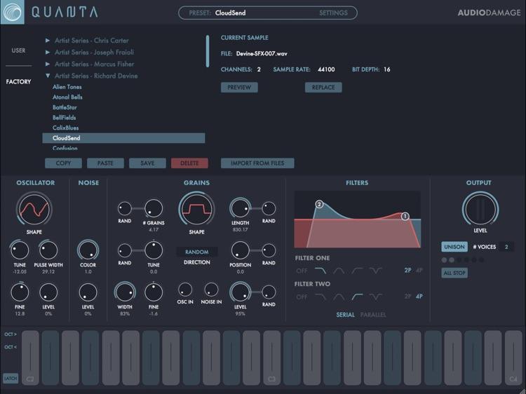 Quanta Granular Synth screenshot-7
