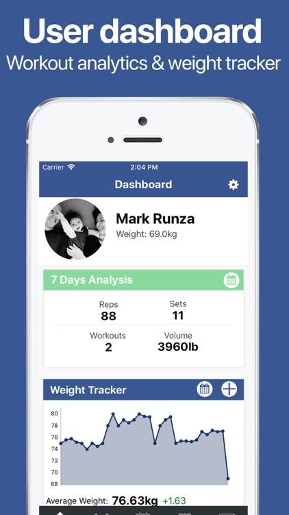 Gymster+ Gym Workout Tracker screenshot-8