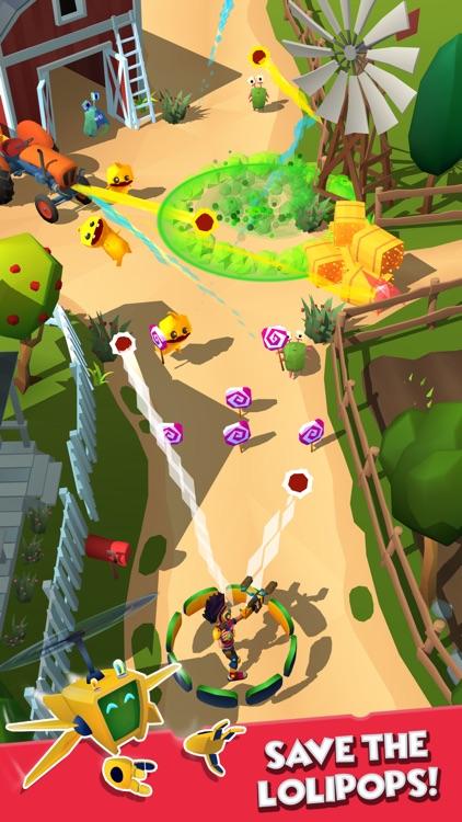 Candy Patrol: Lollipop Defense screenshot-0