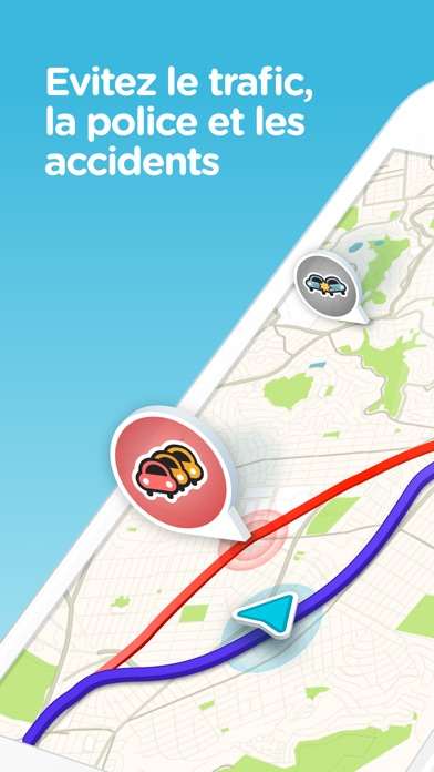 Screenshot for Navigation Waze & Trafic Live in Lebanon App Store