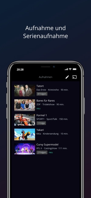 waipu.tv - Live TV Streaming Screenshot
