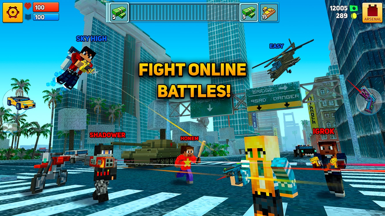 Block City Wars: Mafia Town Screenshot