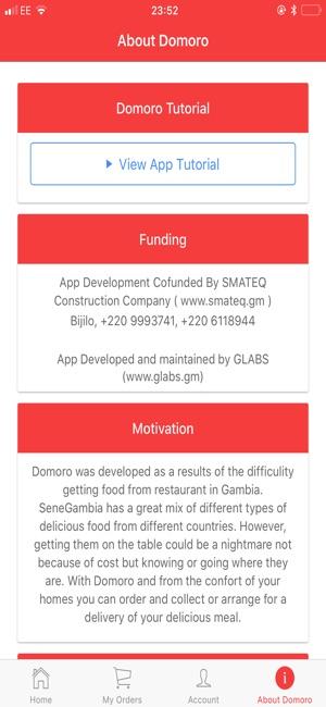 domoro im app store