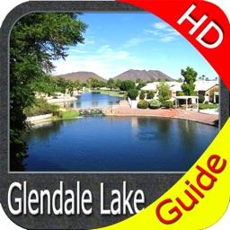 Glendale lake Pennsylvania HD - GPS fishing charts