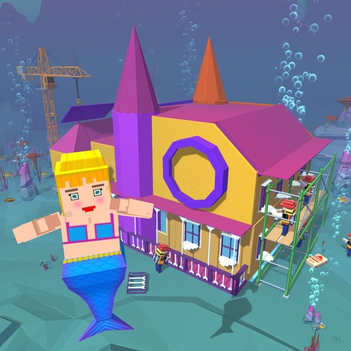 Mermaid Princess Craft Sim 3D