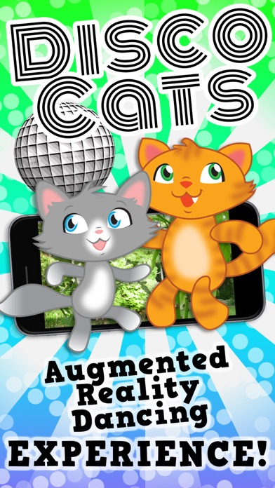 Disco Cats Augmented Reality screenshot one