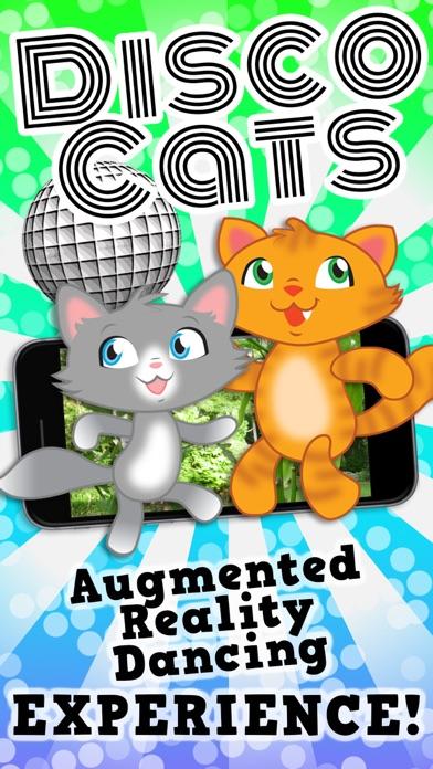 Disco Cats Augmented Reality screenshot one