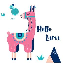 Llama Love Stickers