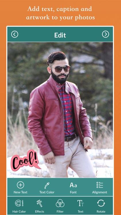 Beard Style Photo Editor screenshot-3