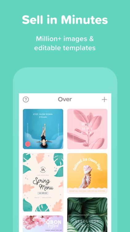 Over—Edit & Add Text to Photos