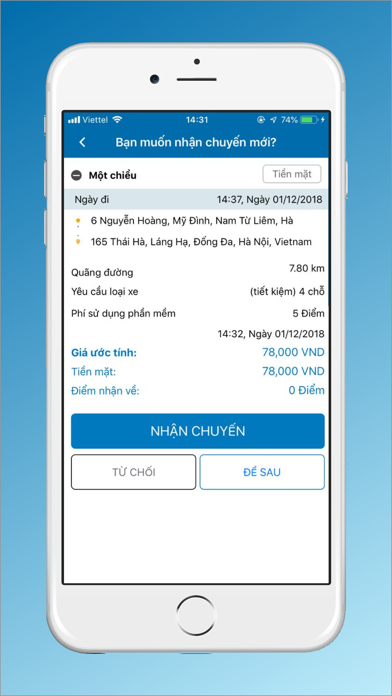 Screenshot for VIET MT - Tài Xế in New Zealand App Store