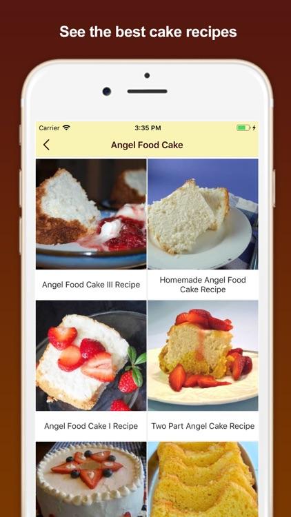 Best Homemade Cake Recipes screenshot-5