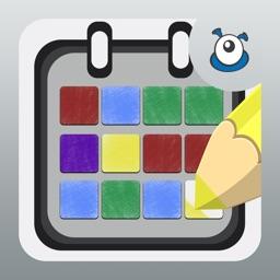 Pixel Calendar- Year In Pixels