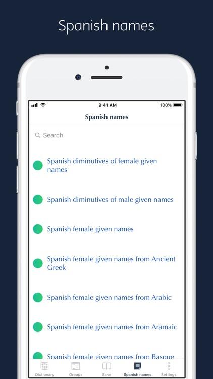 Spanish Etymology and Origins screenshot-5