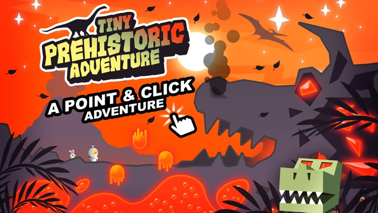 Tiny Prehistoric Adventure - A Point & Click Game