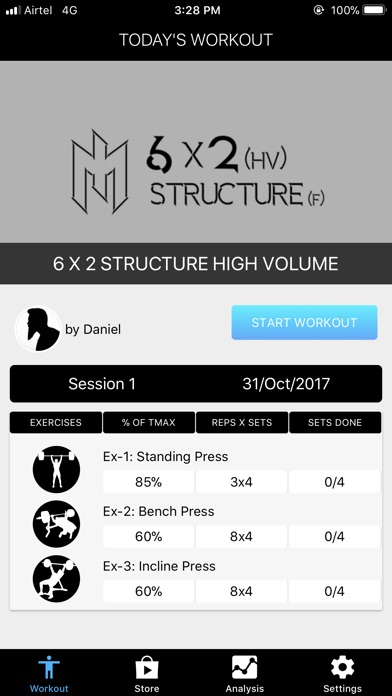StratFit Strength Coach Screenshot