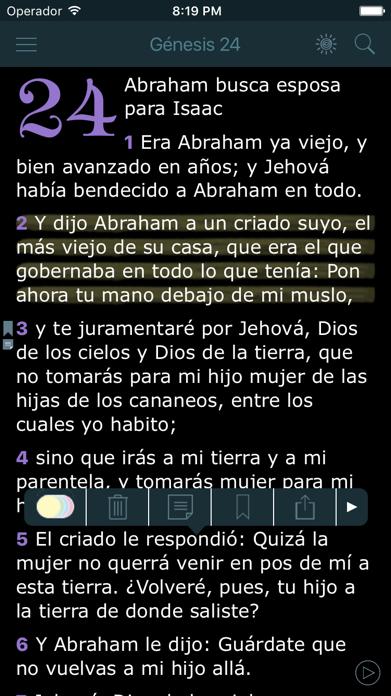 La Biblia Reina Valera Audio Screenshot
