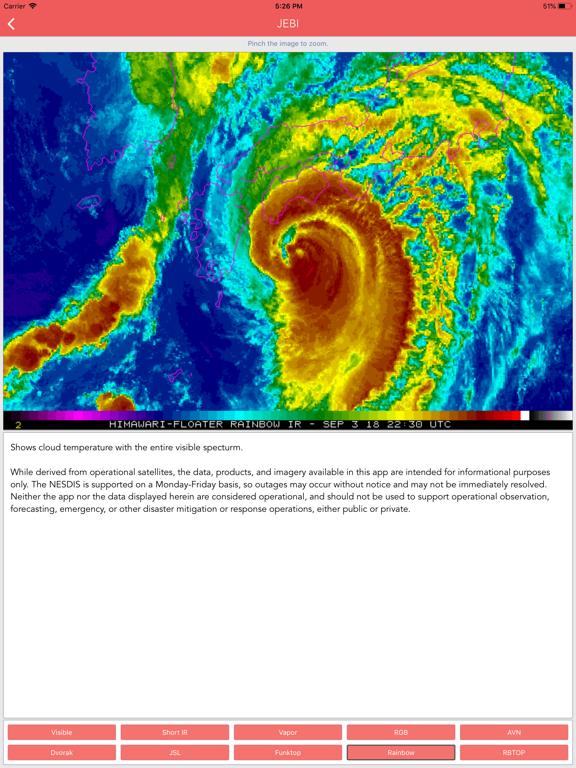 Typhoon Tracker (台風 태풍 台风) screenshot 14