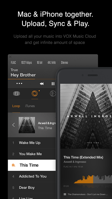 Screenshot #5 for VOX: MP3 & FLAC Music Player