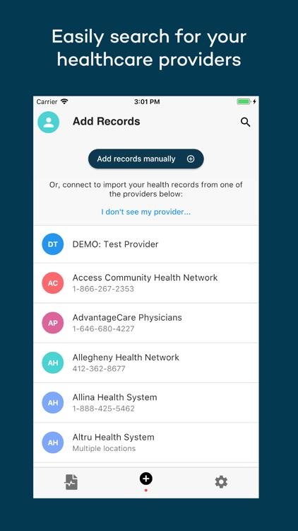 Coral Health Records