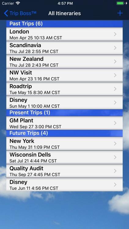Trip Boss Itinerary manager screenshot-4