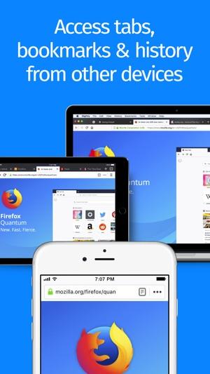 Firefox Web Browser Screenshot