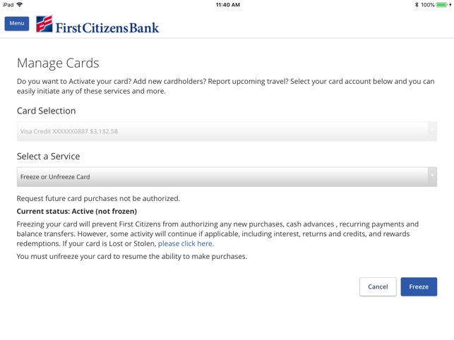 First Citizens Mobile Banking On The App Store
