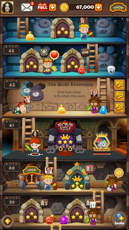 Monster Busters: Hexa Blast screenshot-2