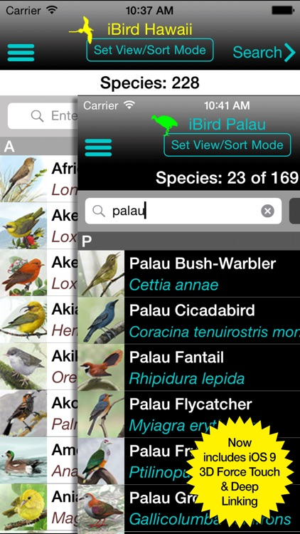 iBird Hawaii & Palau Guide screenshot-0